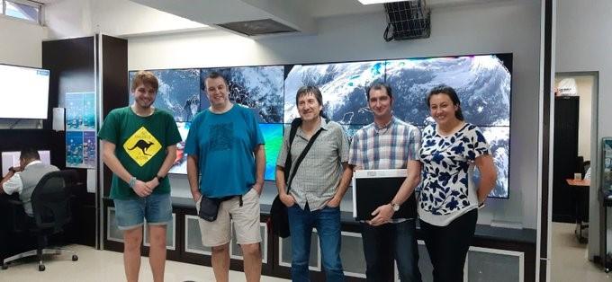 Visita a El Salvador para estudios de paleosismicidad y riesgo sísmico