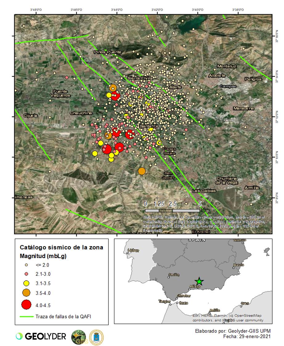 GEOLYDER NEWS: Nuevos terremotos y reporte de daños en Granada