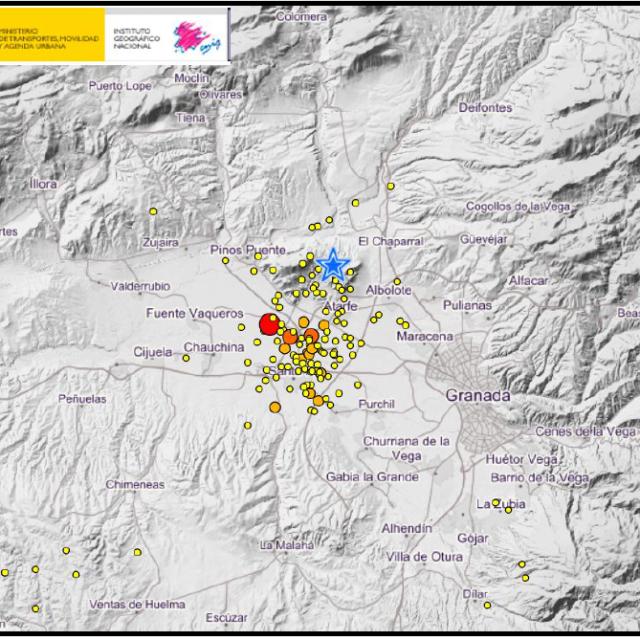 GEOLYDER NEWS: Serie sísmica en la provincia de Granada